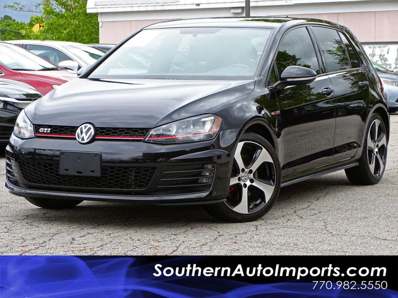 2016 Volkswagen Golf GTI S w/Lighting Pkg 6 speed Manual