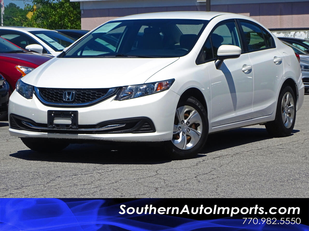 2015 Honda Civic Sedan LX w/Back up Camera Bluetooth Connection