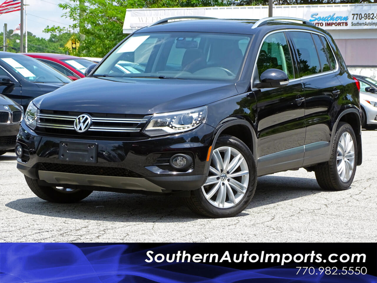 2016 Volkswagen Tiguan SE Back up Camera Navigation Bluetooth