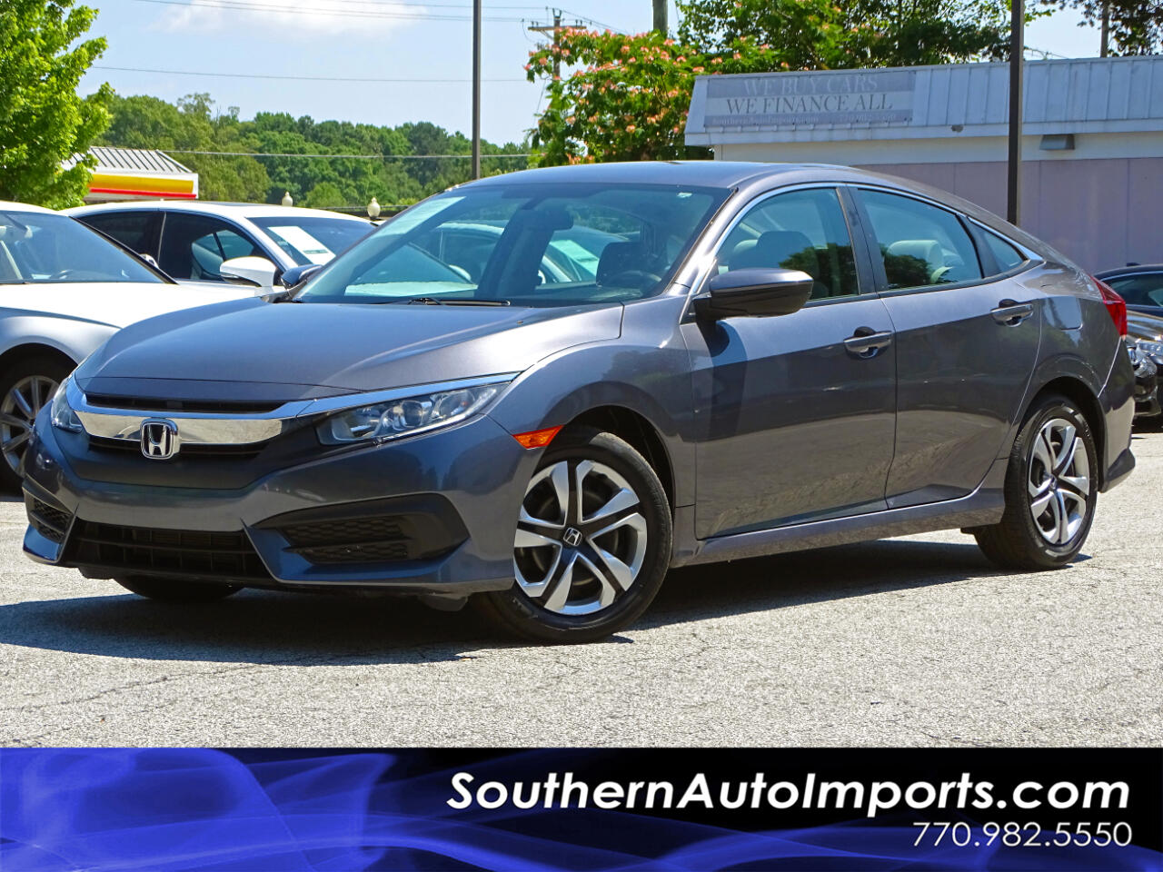 2016 Honda Civic Sedan LX Back up Camera Bluetooth Connection