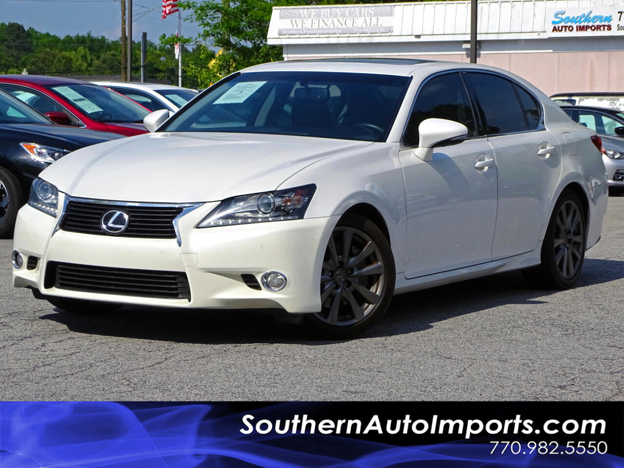 2014 Lexus GS 350 Sdn Back up Camera Bluetooth Connect