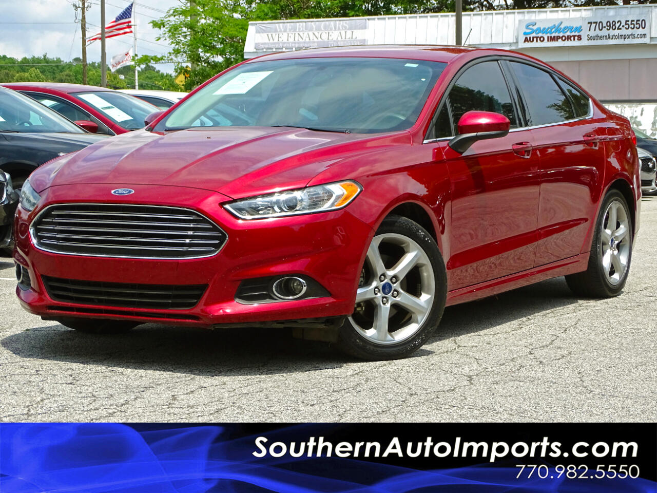 2016 Ford Fusion Sdn s Back up Camera Bluetooth Connection
