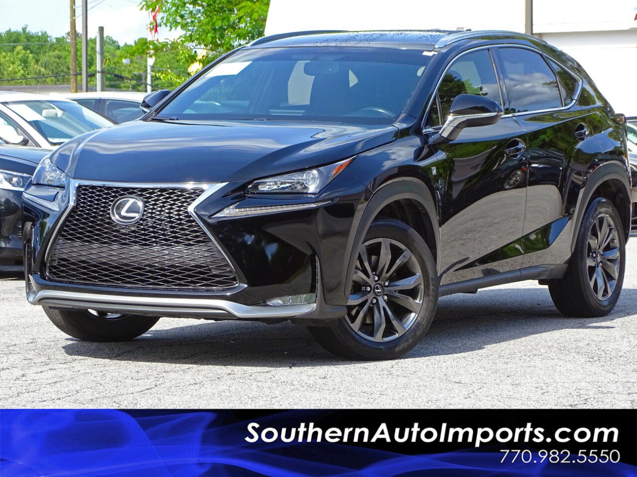 2017 Lexus NX 200t F-Sport Pkg w/Red Interior 1owner