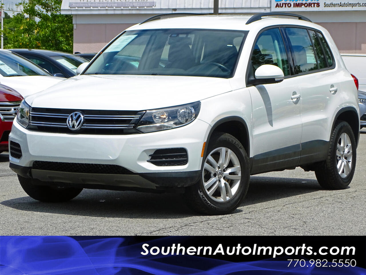 2016 Volkswagen Tiguan Auto S Back up Camera Bluetooth Connection