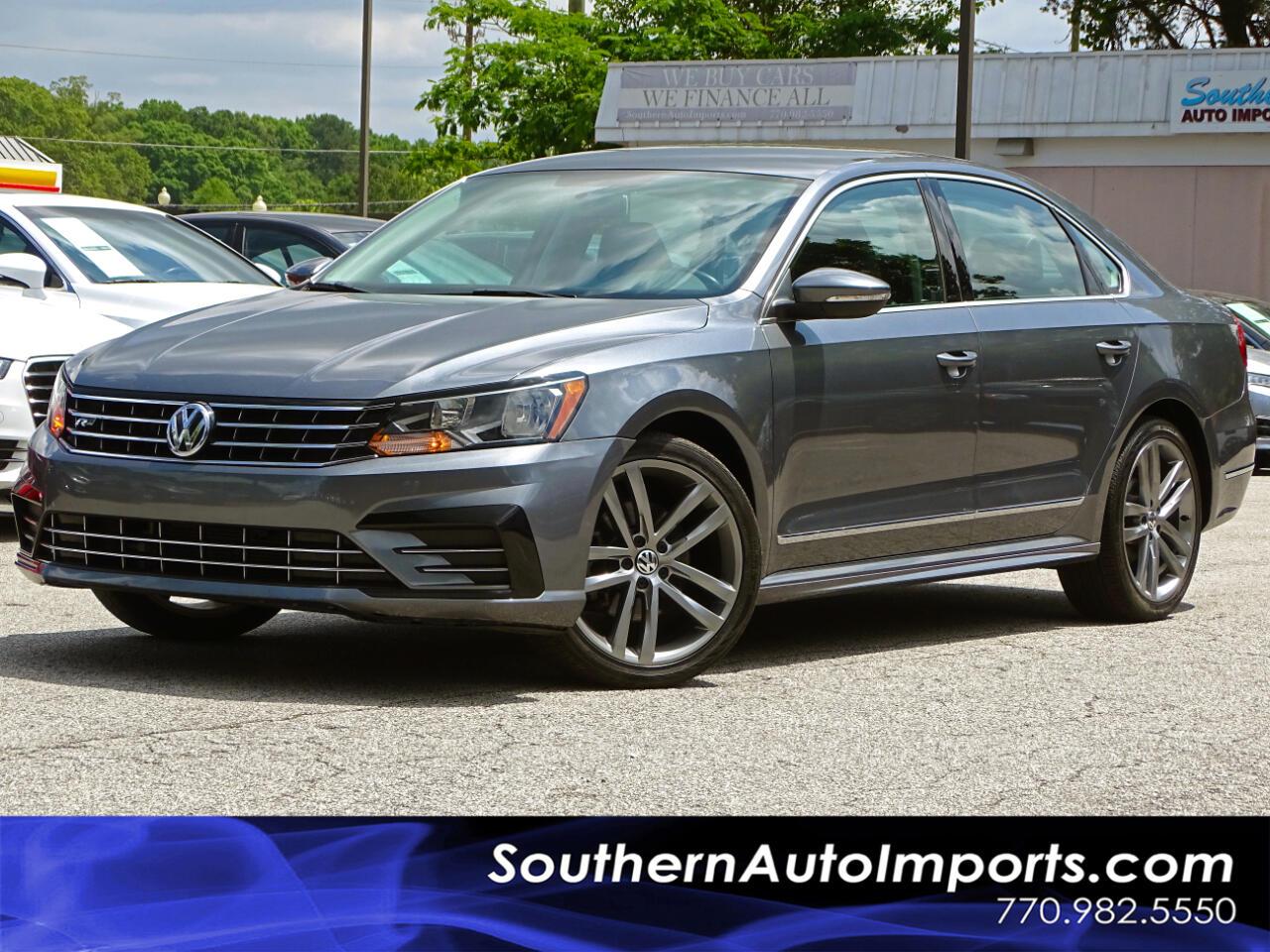 2016 Volkswagen Passat R-Line w/Comfort Pkg Auto