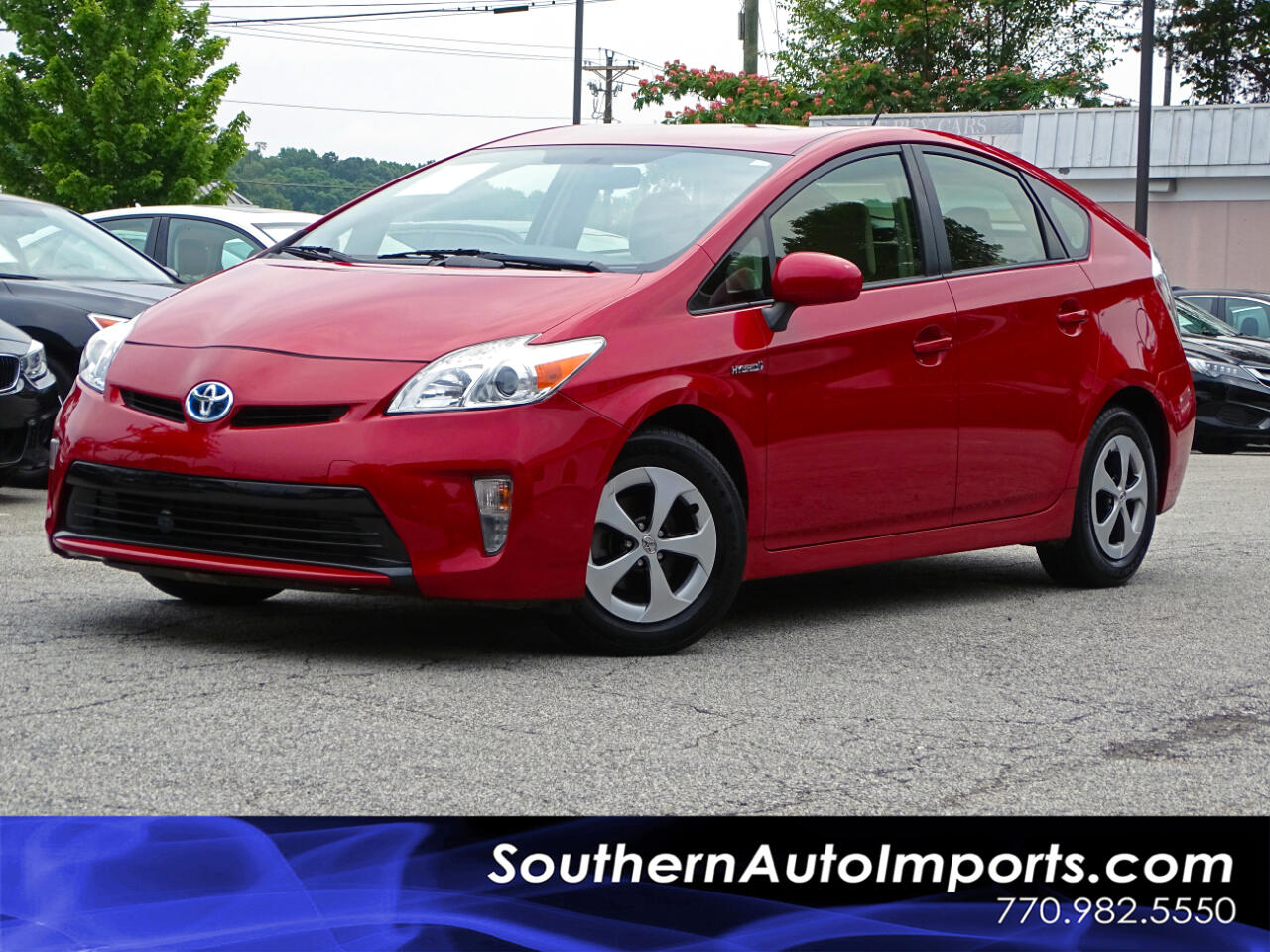 2015 Toyota Prius HB TWO w/Back up camera Bluetooth Connect