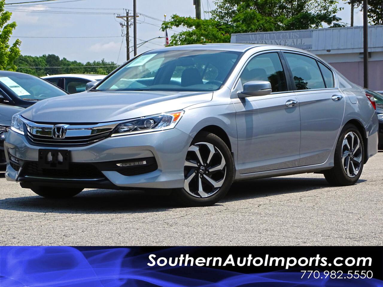 2016 Honda Accord Sedan EX-L Back up Camera Memory Seats
