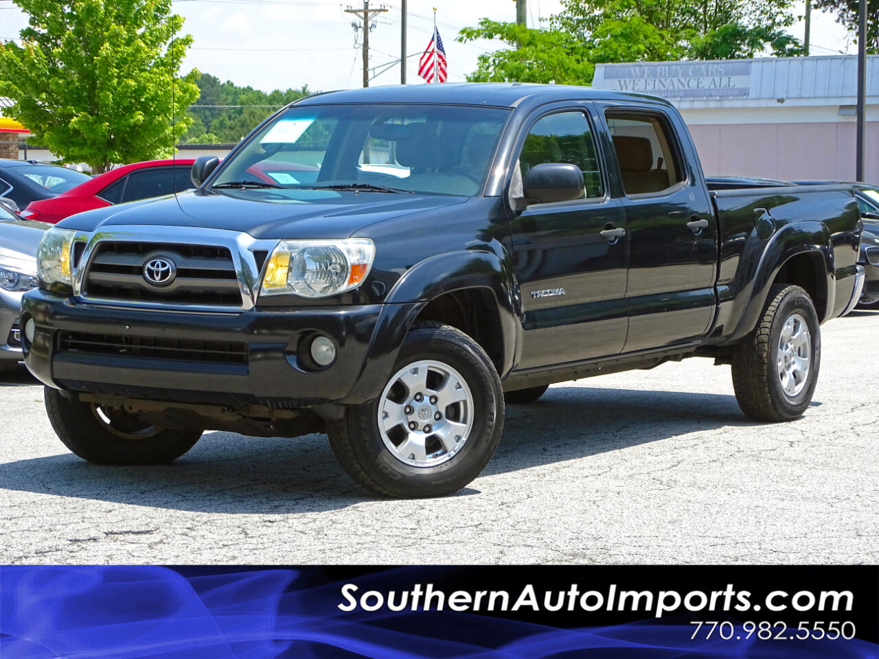 2010 Toyota Tacoma Double Cab Long Bed V6 PreRunner