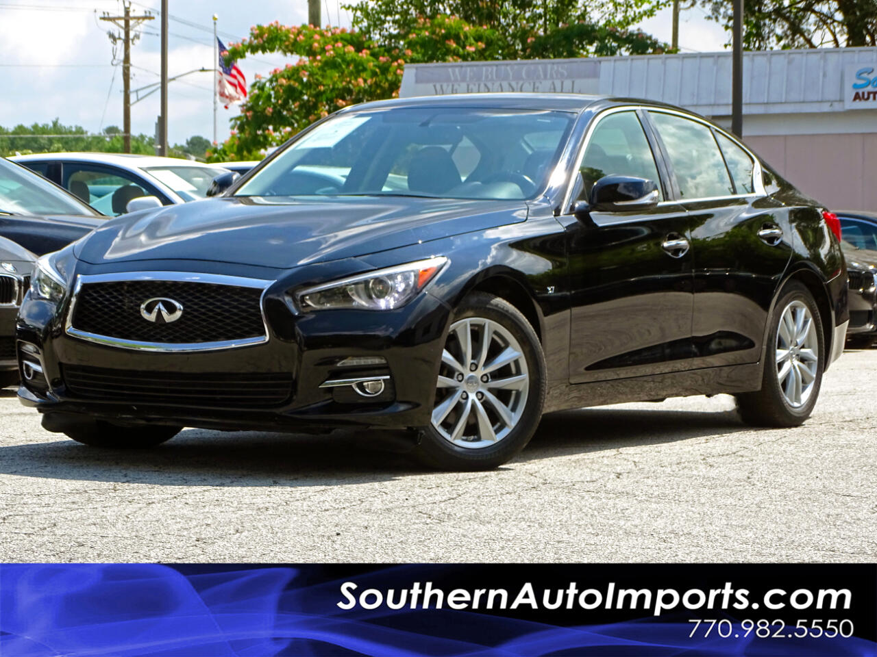 2015 Infiniti Q50 AWD Premium Pkg Back up Cam Navigation