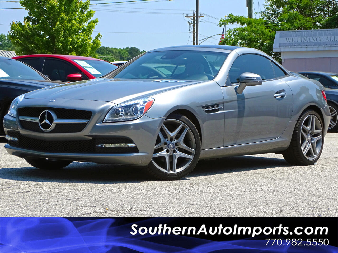 2014 Mercedes-Benz SLK-Class SLK 250 w/Glass Roof 1owner