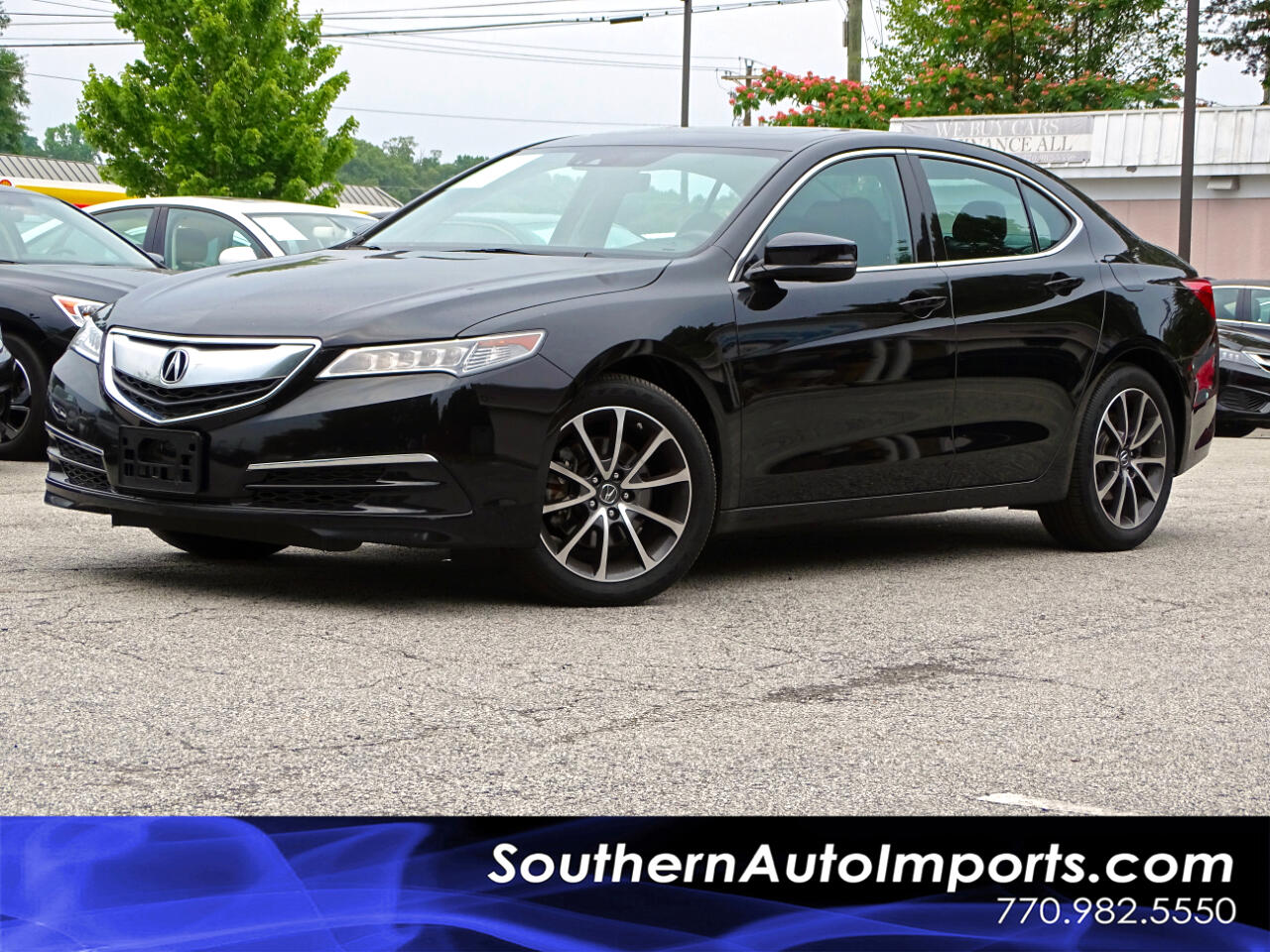 2016 Acura TLX AWD w/Technology Package