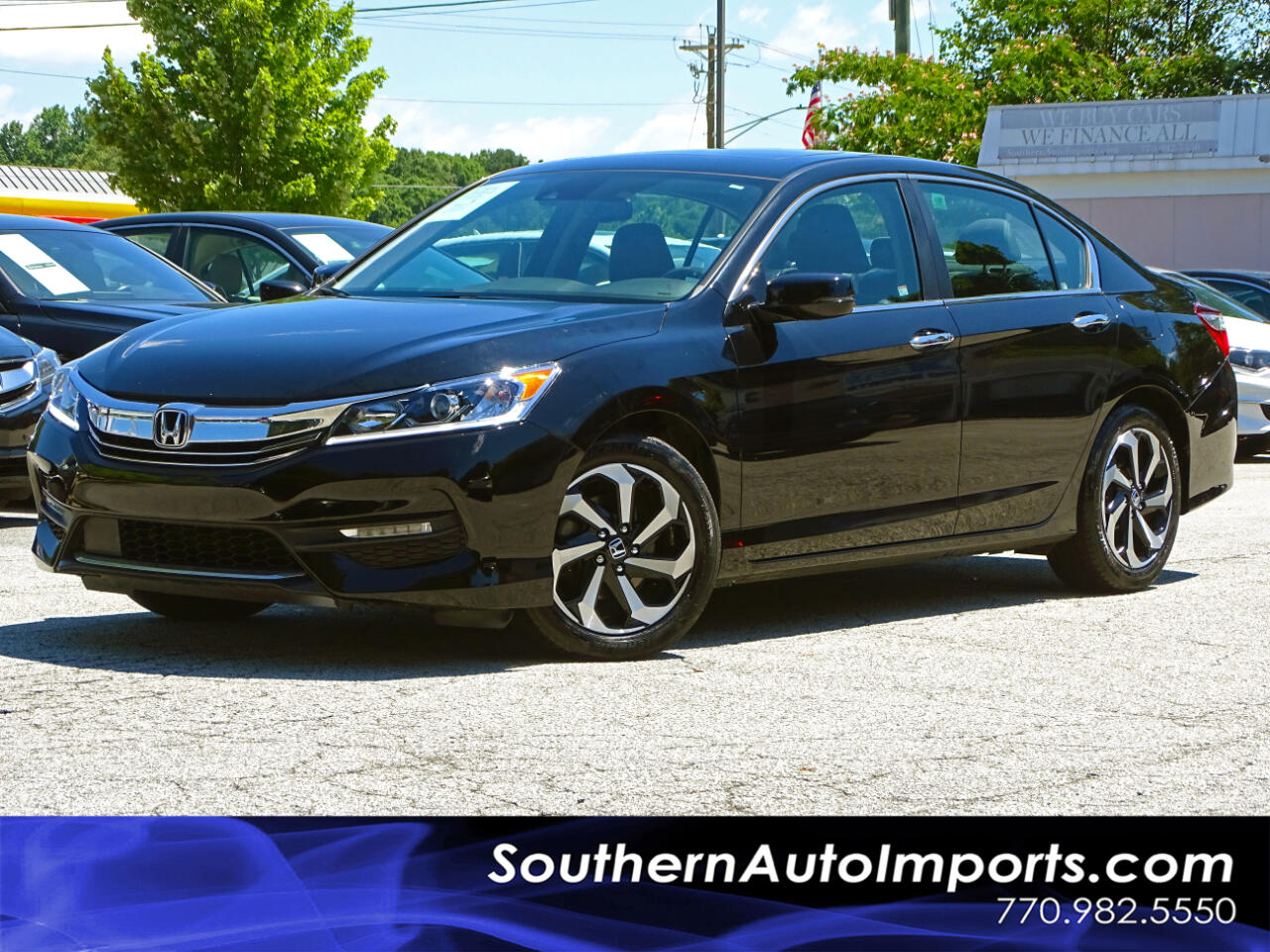 2016 Honda Accord Sedan EX-L w/Navigation & Honda Sensing