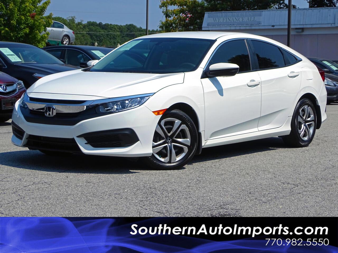 2017 Honda Civic Sedan LX Back up Camera Bluetooth Connection