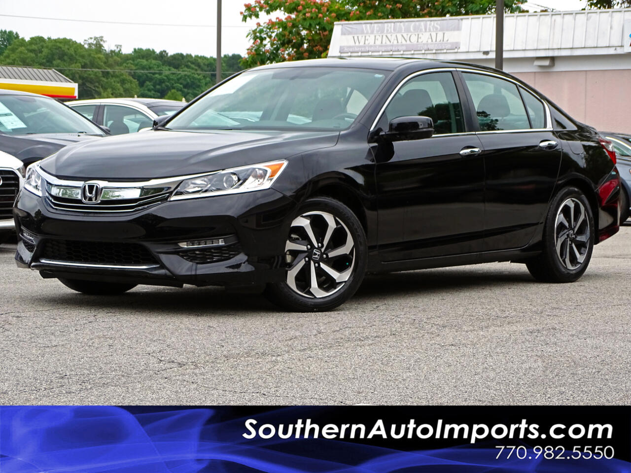 2016 Honda Accord Sedan EX-L Back up Camera Blind Spot BLuetooth