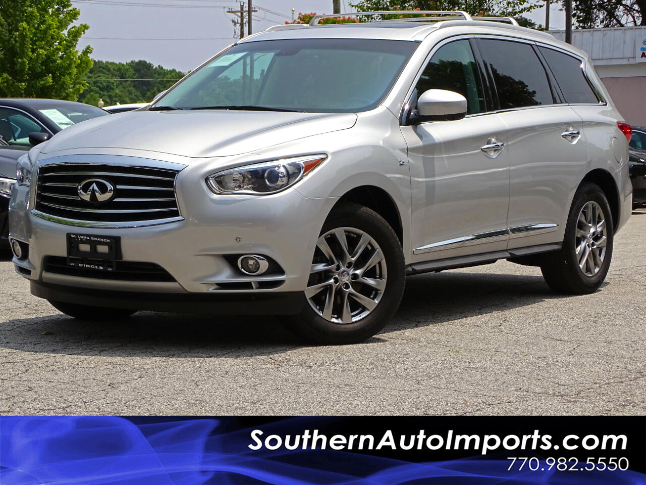 2015 Infiniti QX60 AWD Premium & Premium plus Pkg Back up cam