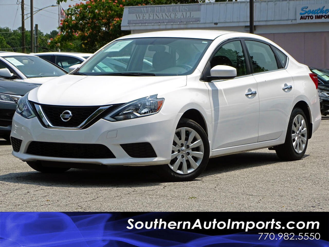 2016 Nissan Sentra S w/BLUETOOTH CONNECT 1OWNER