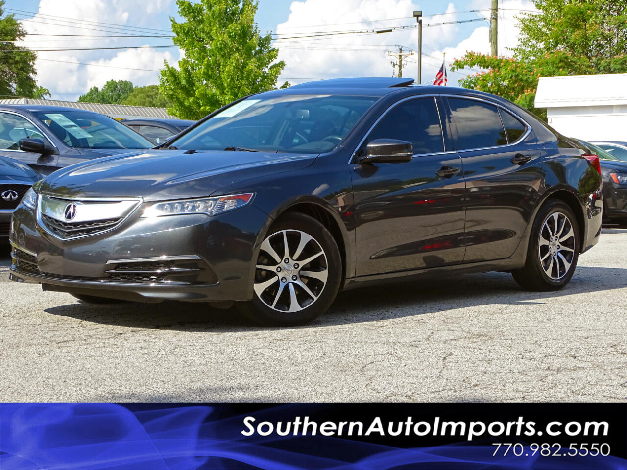 2016 Acura TLX Sdn Back up Cam Heated Seats Bluetooth Connect