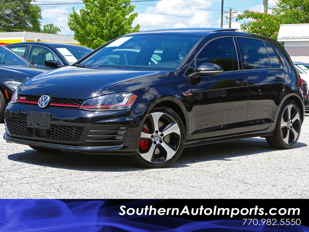 2015 Volkswagen Golf GTI GTI SE w/Performance Pkg Lighting Pkg 6 spd
