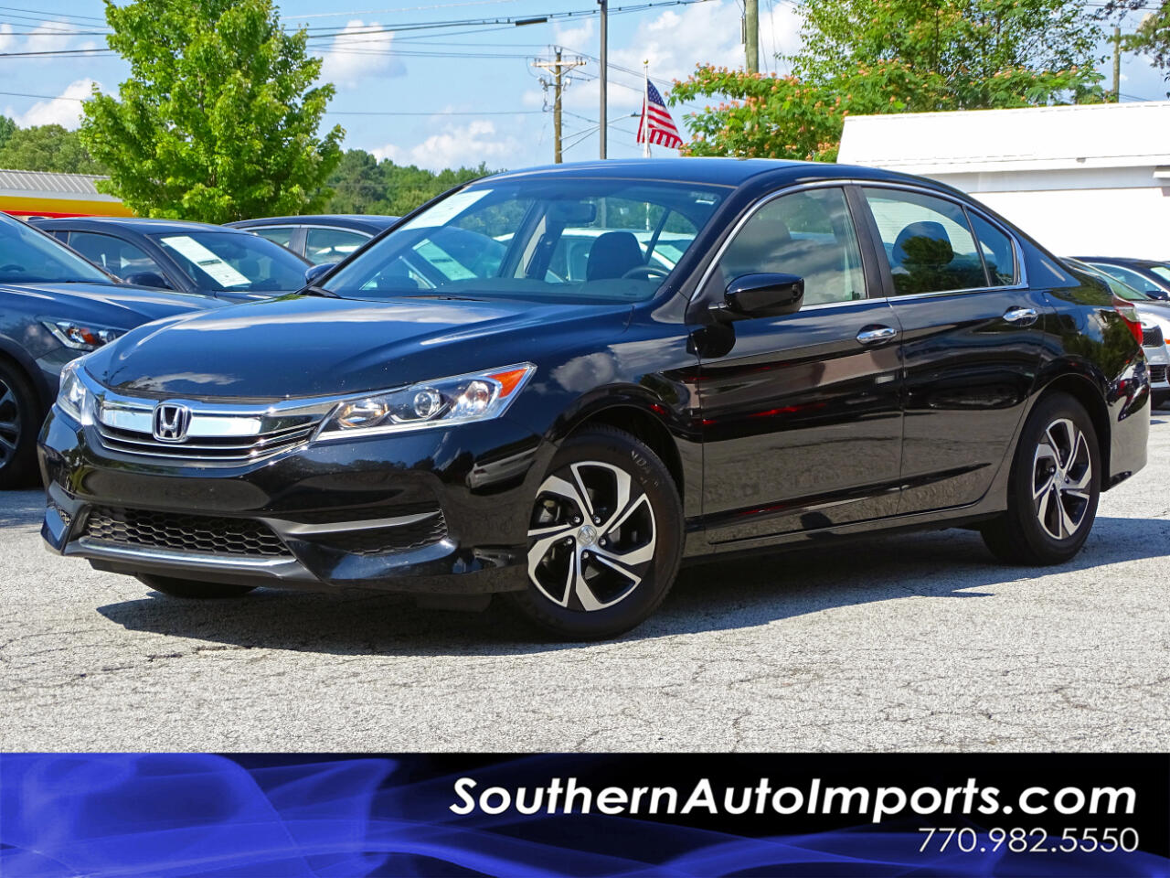 2016 Honda Accord Sedan LX w/Back up Camera Bluetooth Connection