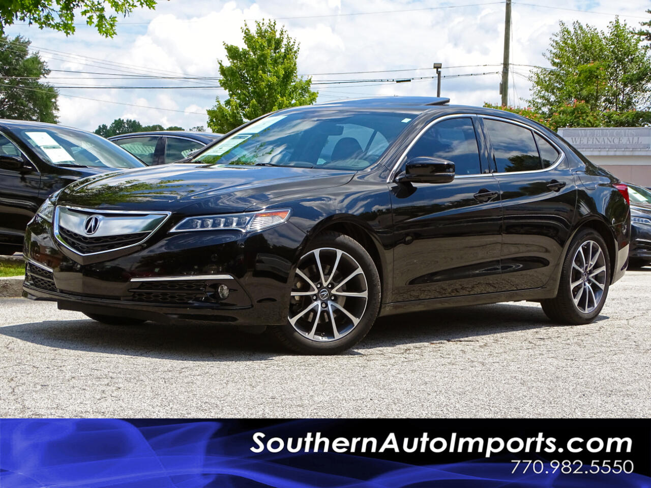 2016 Acura TLX AWD Advance Pkg Back up Cam Navigation