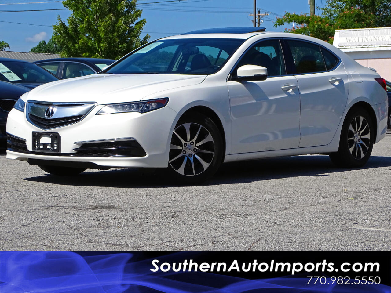 2015 Acura TLX Sdn Back up Cam Bluetooth Conect Heated Seats