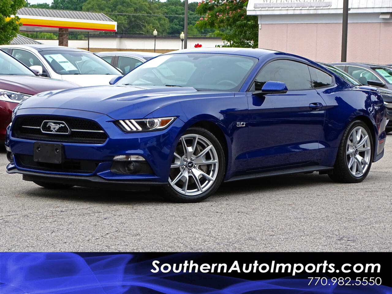2015 Ford Mustang 50th Anniversary GT Premium