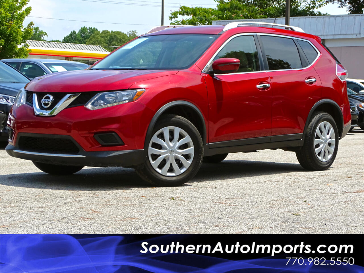 2016 Nissan Rogue AWD S w/Appearance Pkg