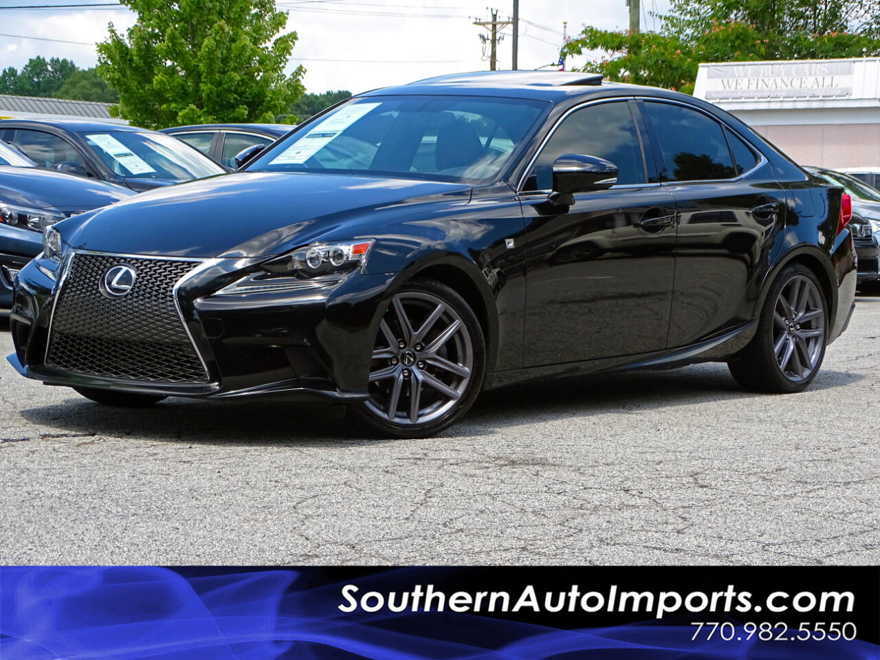 2015 Lexus IS 250 F-Sport Pkg w/Navigation