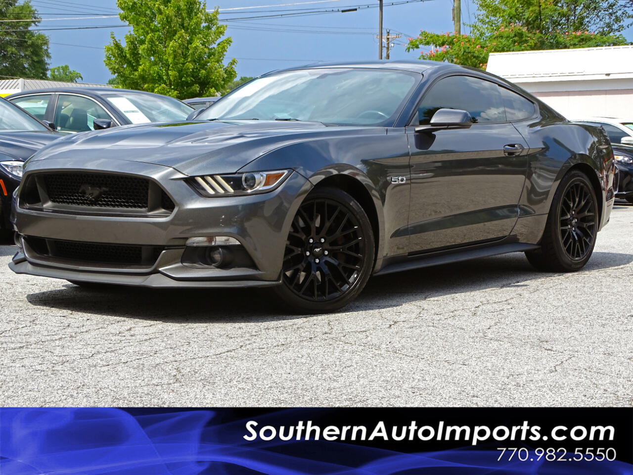 2016 Ford Mustang GT w/Back up Cam Pwr Seat Push Start