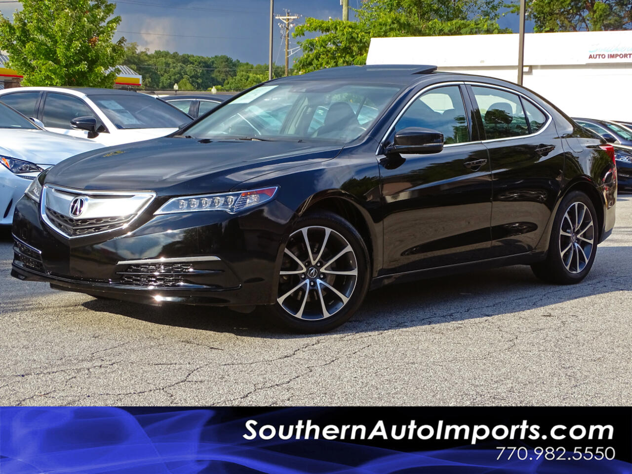 2016 Acura TLX TLX w/Technology Pkg Navi Back up Cam