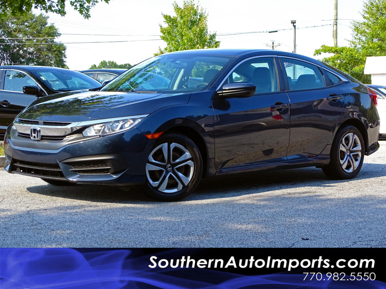 2016 Honda Civic Sedan LX Back up Camera Bluetooth Connection