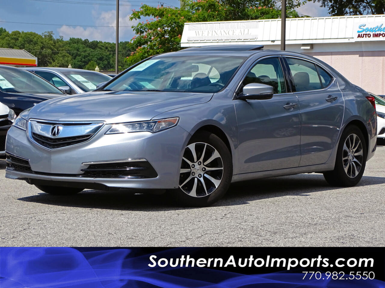 2016 Acura TLX Sdn Back up Cam Heated Seats 1-Owner