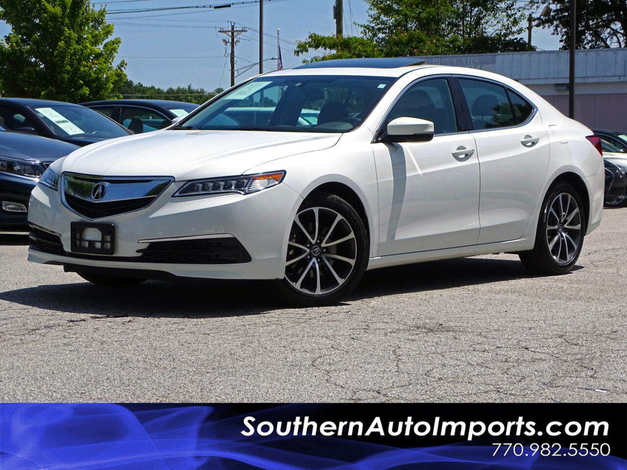 2016 Acura TLX 3.5L V6 w/Espresso Leather Seats