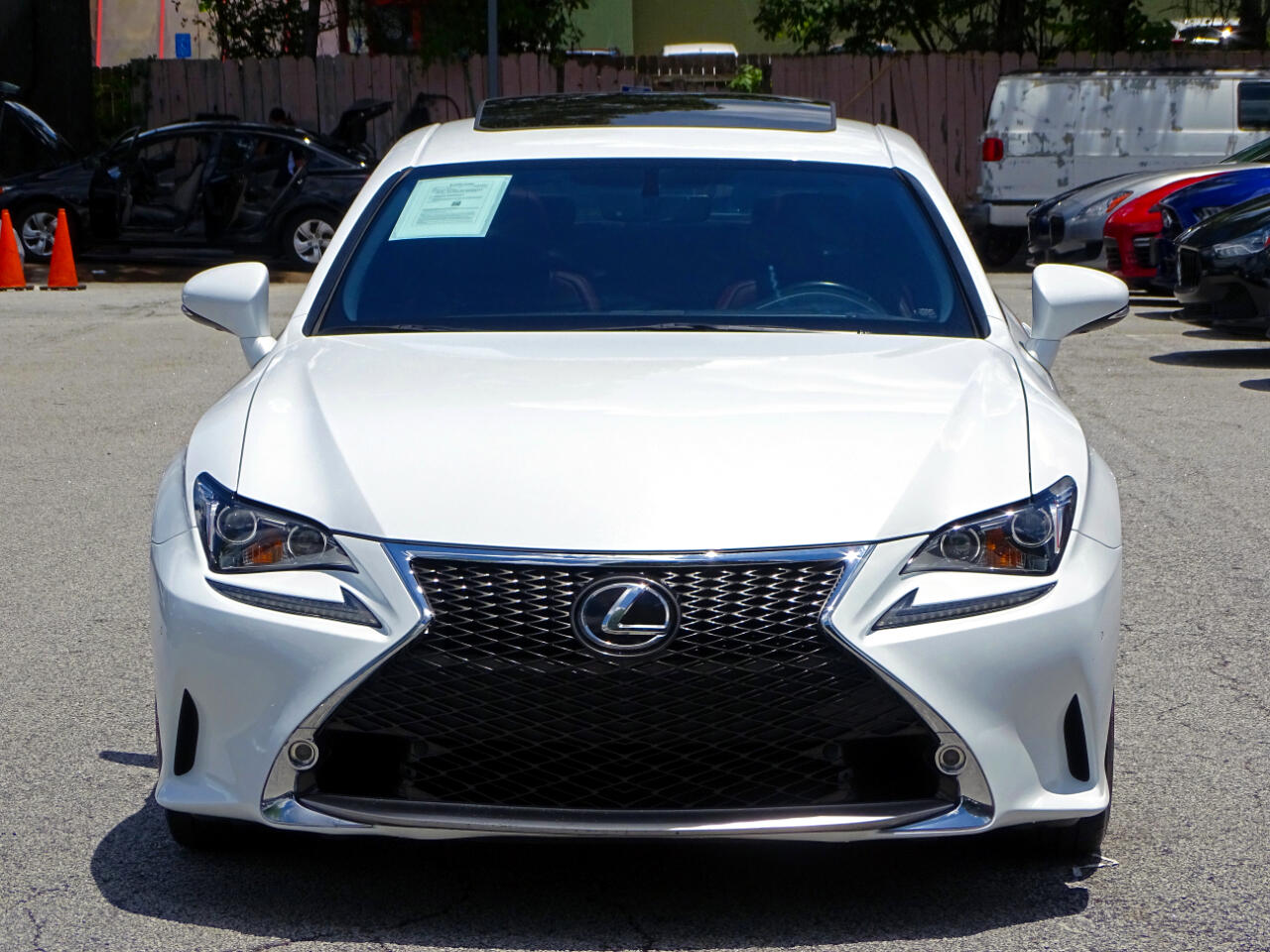 2015 Lexus RC 350 F-Sport Pkg + Navi Pkg Back up Cam 1-Owner