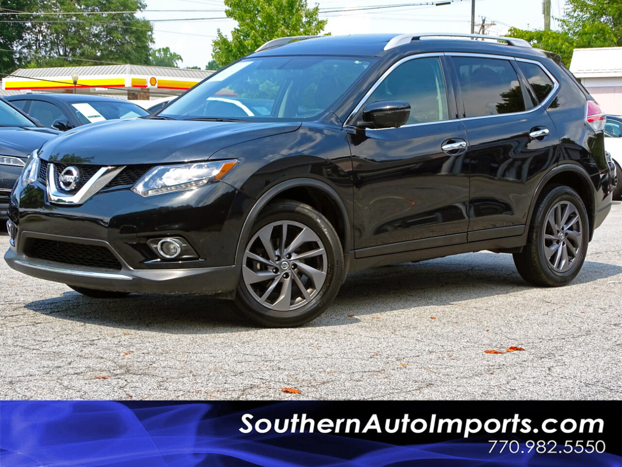 2016 Nissan Rogue AWD w/SL Premium Pkg Panoroof 1-Owner