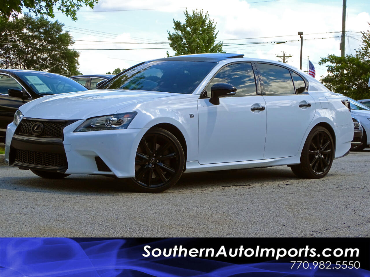 2015 Lexus GS 350 F-Sport Blind Spot Monitor Pkg HID Headlights