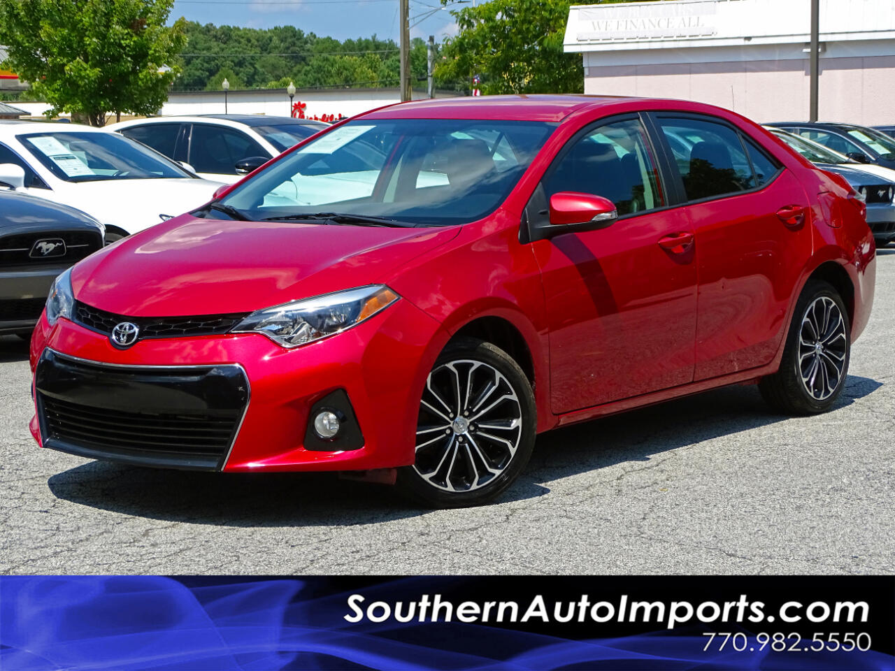 2015 Toyota Corolla S Plus w/Back up Cam Bluetooth Connection