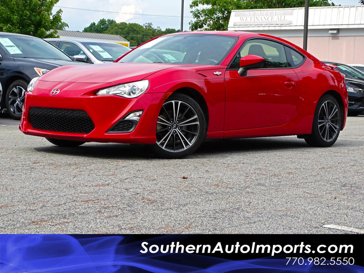 2015 Scion FR-S Auto w/Paddle Shifter Bluetooth Connect