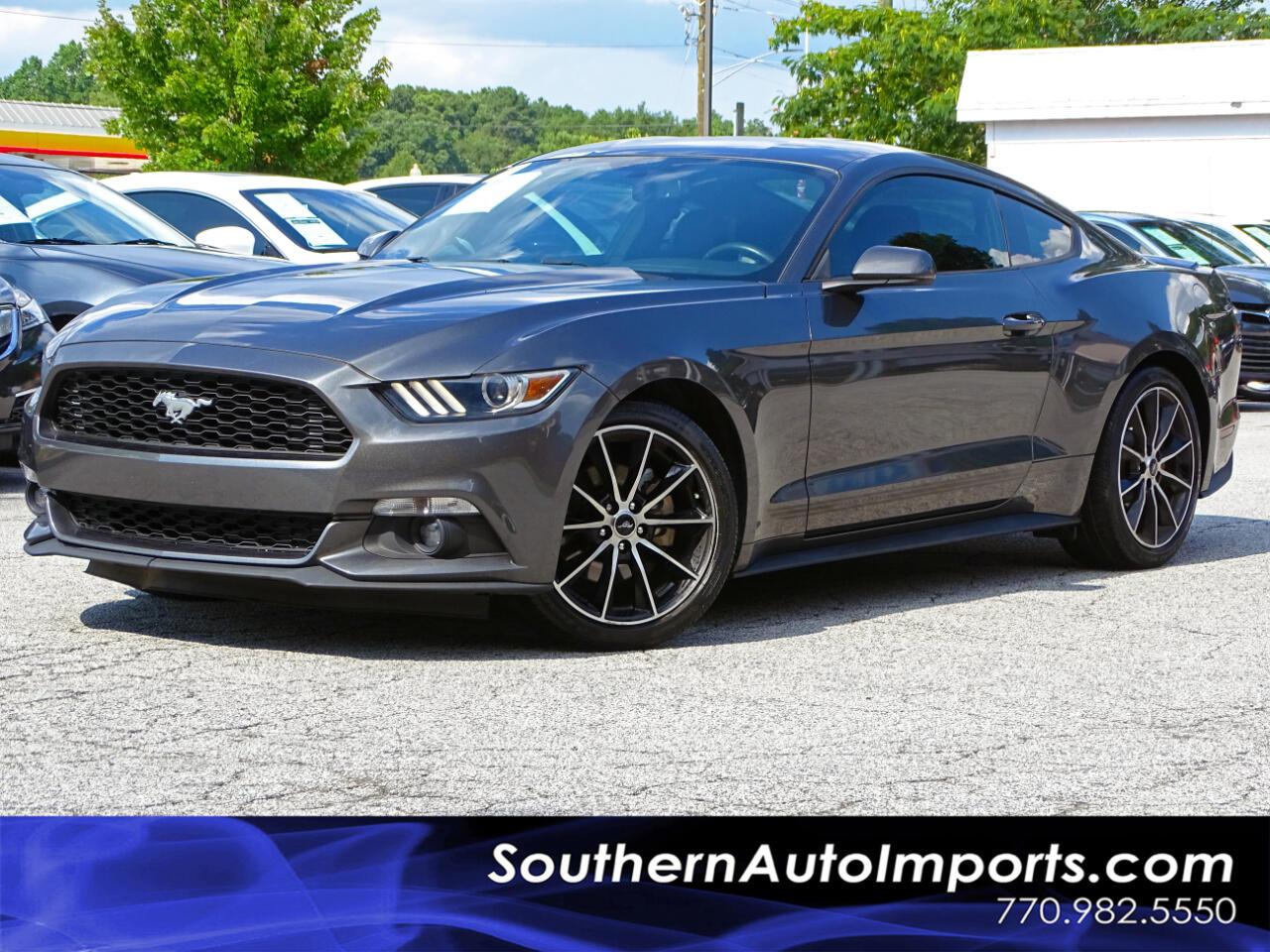 2016 Ford Mustang Premium w/Back up Cam Navigation 1-Owner