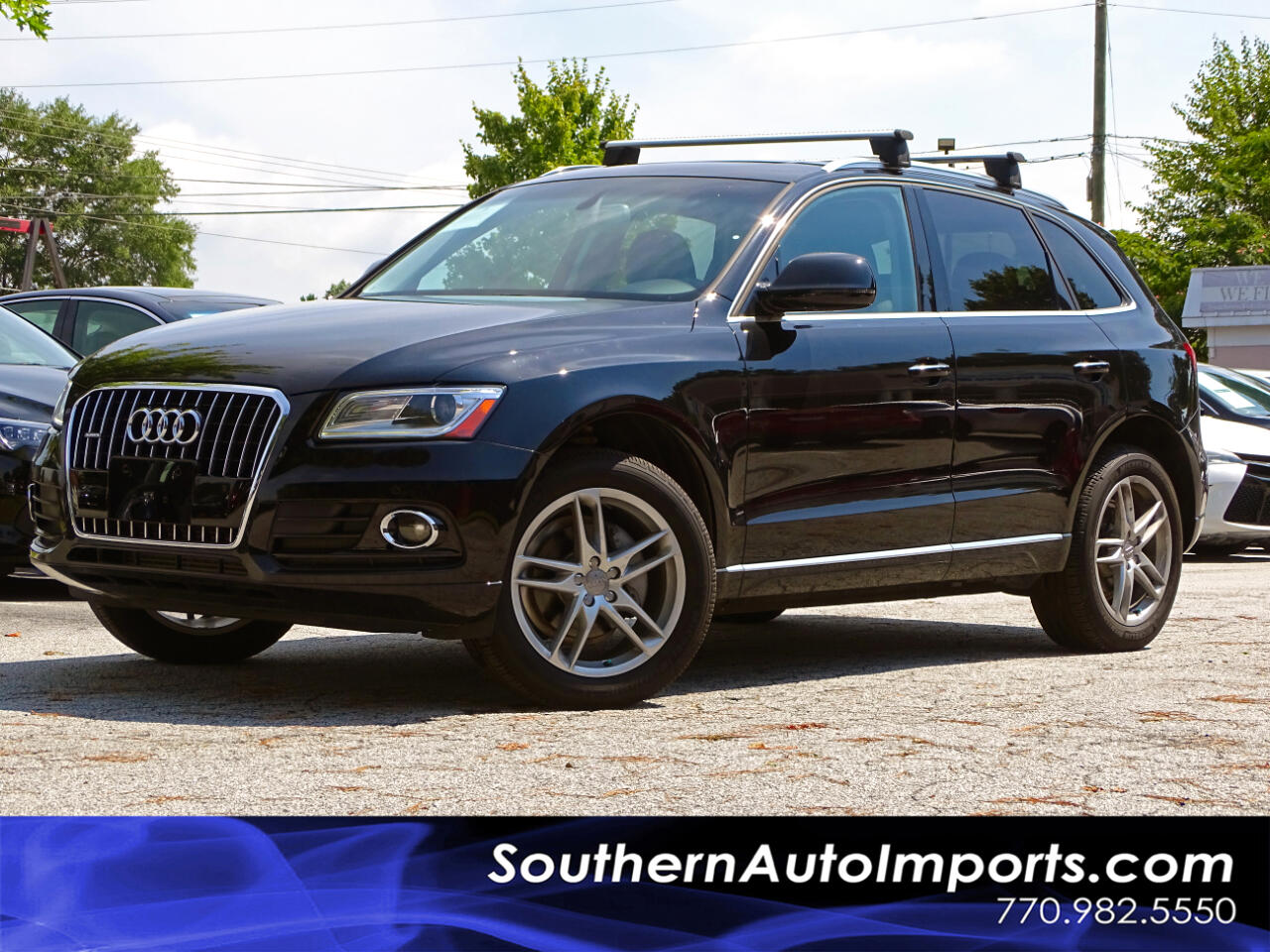 2015 Audi Q5 AWD w/Premium Plus + Tech Pkg