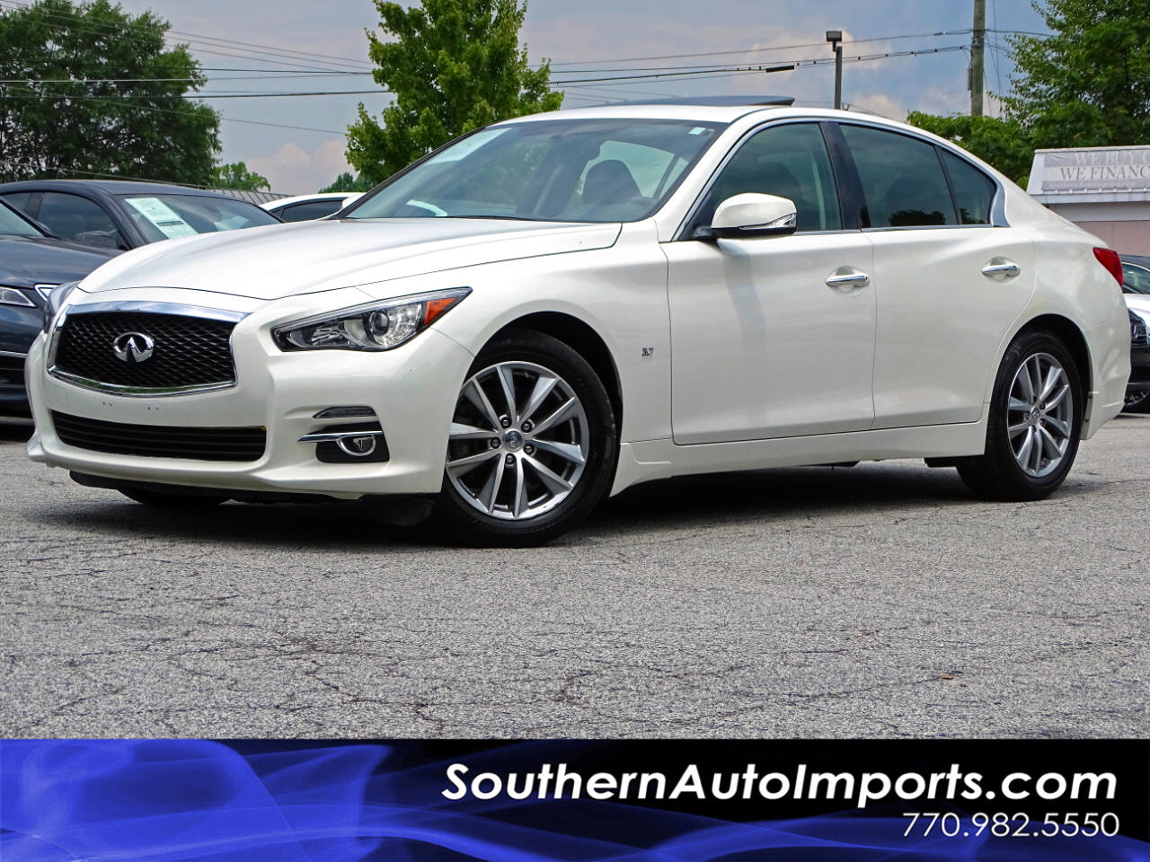 2015 Infiniti Q50 PREMIUM w/NAVIGATION PKG BACK UP CAMERA