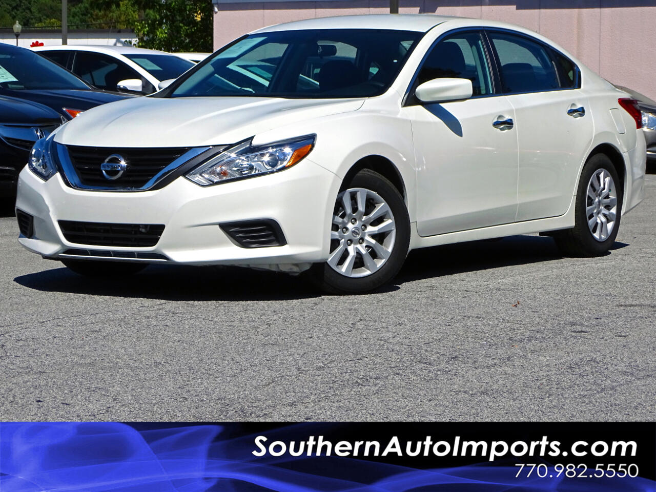 2016 Nissan Altima 2.5 S w/BACK UP CAM, BLUETOOTH, 1-OWNER