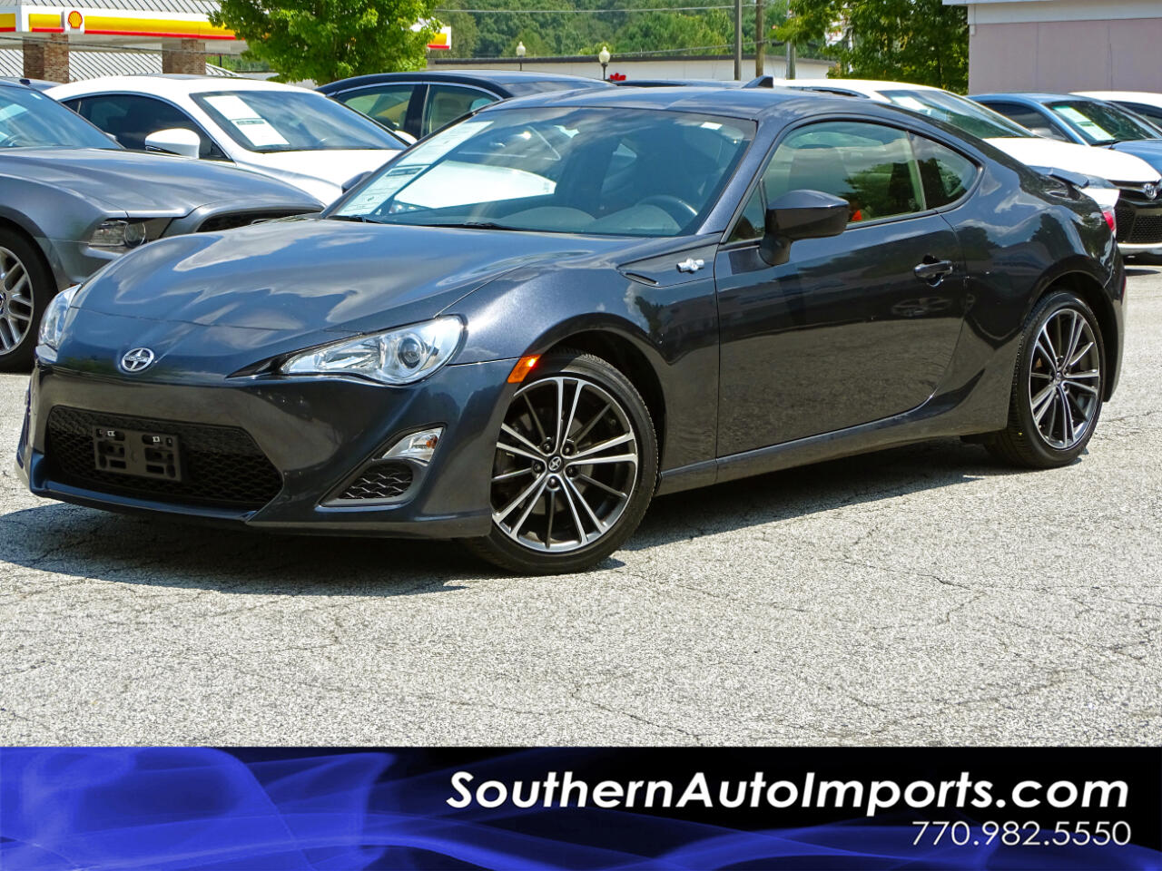 2016 Scion FR-S CPE AUTO w/BACK UP CAMERA 1-OWNER