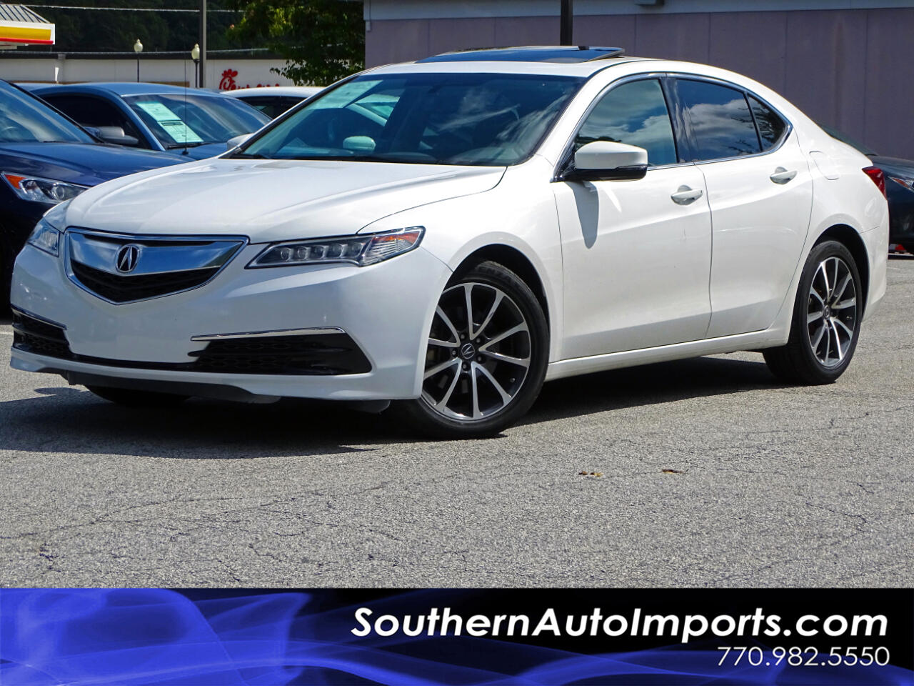 2016 Acura TLX V-6 w/BACK UP CAM 1-OWNER