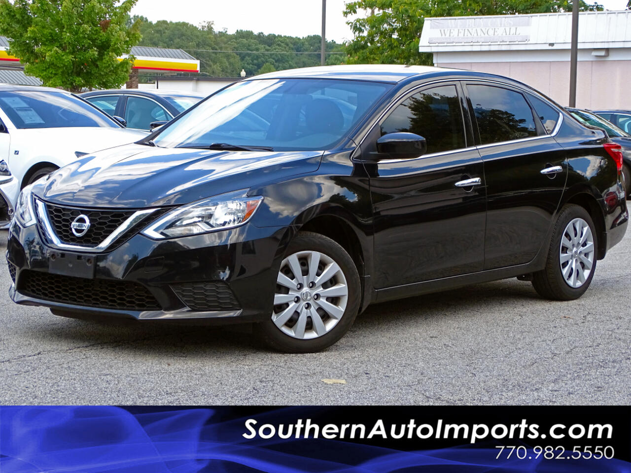 2016 Nissan Sentra SV w/NAVI PKG BACK UP CAMERA BLUETOOTH