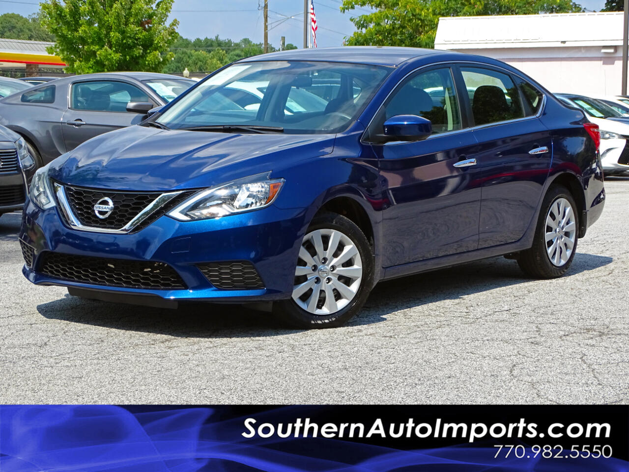 2016 Nissan Sentra S w/BLUETOOTH CONNECT 1-OWNER