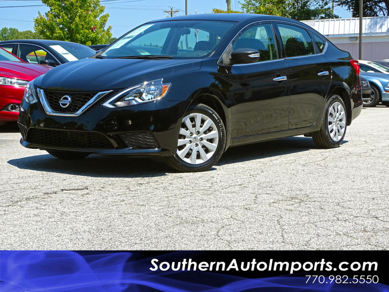 2016 Nissan Sentra S w/BLUETOOTH 1-OWNER