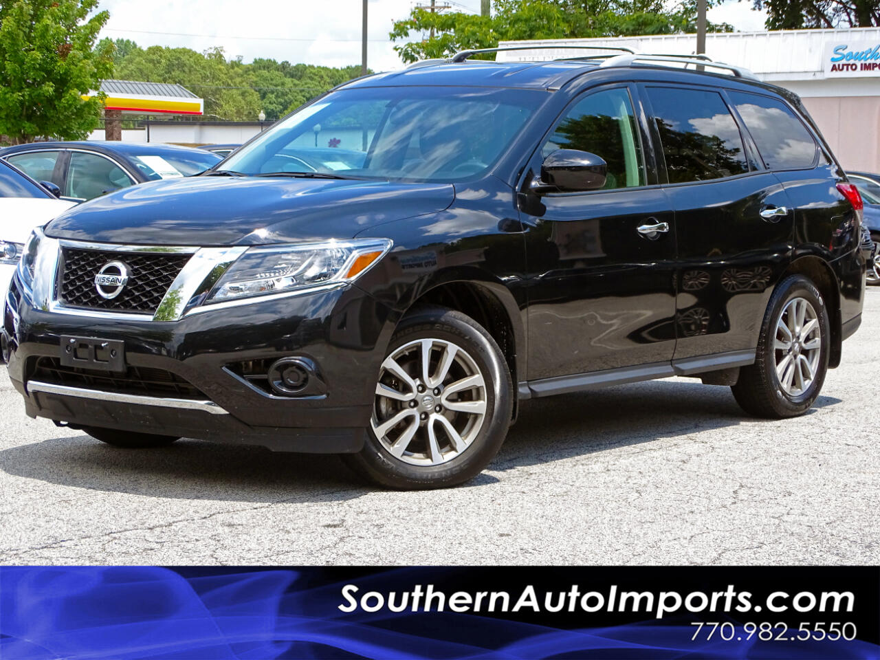 2016 Nissan Pathfinder 4WD S w/3RD ROW SEATS 1-OWNER