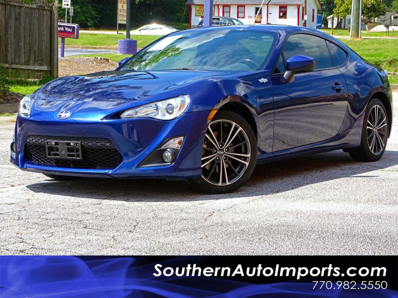 2016 Scion FR-S CPE AUTO w/BACK UP CAM 1-OWNER