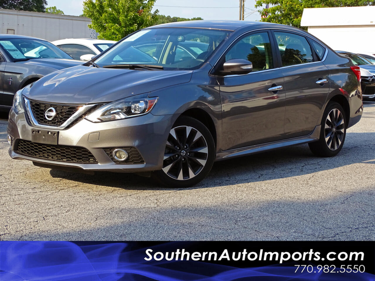 2017 Nissan Sentra SR w/BACK UP CAM HEATED SEATS